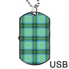 Background Pattern Structure Dog Tag Usb Flash (one Side) by Pakrebo