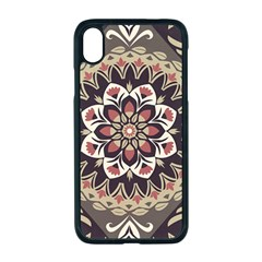 Seamless Pattern Floral Flower Apple Iphone Xr Seamless Case (black)