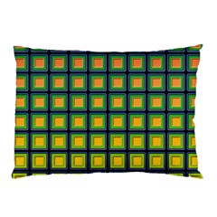 Tile Background Image Pattern Squares Pillow Case