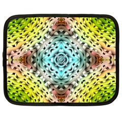 Farbenpracht Kaleidoscope Netbook Case (xl) by Pakrebo