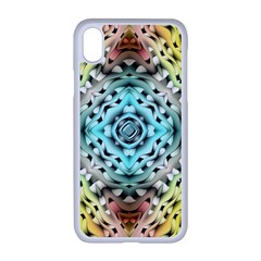 Farbenpracht Kaleidoscope Apple Iphone Xr Seamless Case (white)