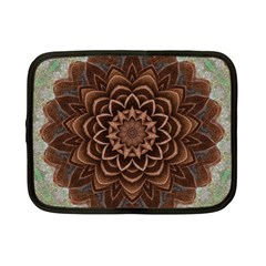 Abstract Art Texture Mandala Netbook Case (small) by Pakrebo