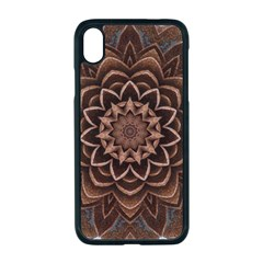 Abstract Art Texture Mandala Apple Iphone Xr Seamless Case (black)