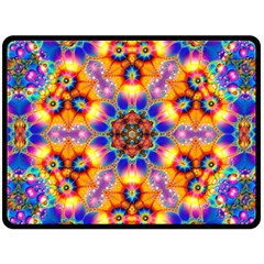 Image Fractal Background Image Fleece Blanket (large)