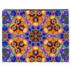 Image Fractal Background Image Cosmetic Bag (xxxl) by Pakrebo