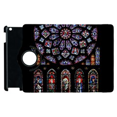 Rosette Cathedral Apple Ipad 3/4 Flip 360 Case