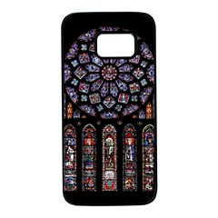 Rosette Cathedral Samsung Galaxy S7 Black Seamless Case