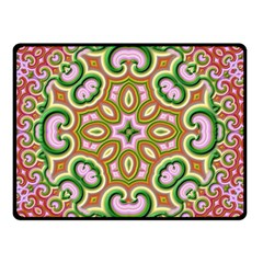 Fractal Art Pictures Digital Art Double Sided Fleece Blanket (small)