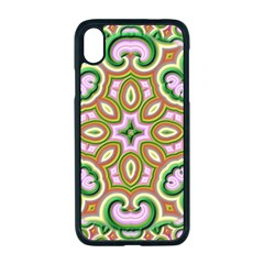 Fractal Art Pictures Digital Art Apple Iphone Xr Seamless Case (black)