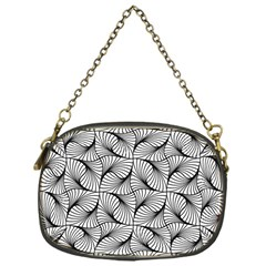 Abstract Seamless Pattern Chain Purse (one Side)