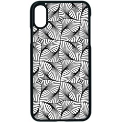 Abstract Seamless Pattern Apple Iphone X Seamless Case (black)