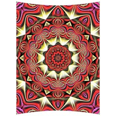 Farbenpracht Kaleidoscope Arts Back Support Cushion by Pakrebo
