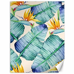Fancy Tropical Pattern Canvas 36  X 48  by tarastyle