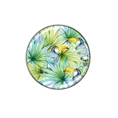 Fancy Tropical Pattern Hat Clip Ball Marker (4 Pack) by tarastyle