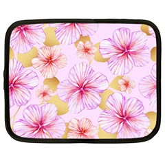 Fancy Tropical Pattern Netbook Case (xl) by tarastyle