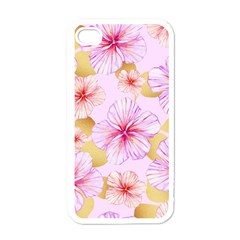 Fancy Tropical Pattern Apple Iphone 4 Case (white) by tarastyle