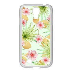 Fancy Tropical Pattern Samsung Galaxy S4 I9500/ I9505 Case (white) by tarastyle