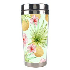 Fancy Tropical Pattern Stainless Steel Travel Tumblers by tarastyle