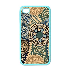 Fancy Colorful Mexico Inspired Pattern Apple Iphone 4 Case (color) by tarastyle