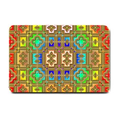 Background Image Tile Geometric Small Doormat