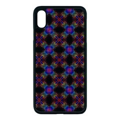 Background Image Pattern Background Apple Iphone Xs Max Seamless Case (black) by Pakrebo