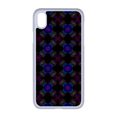 Background Image Pattern Background Apple Iphone Xr Seamless Case (white)