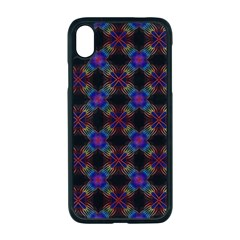 Background Image Pattern Background Apple Iphone Xr Seamless Case (black)