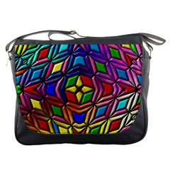 Background Structure Texture Messenger Bag
