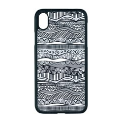 Ethno Seamless Pattern Apple Iphone Xr Seamless Case (black)