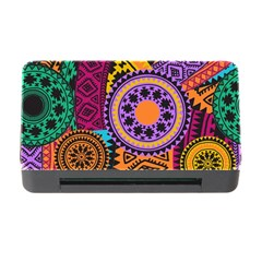 Fancy Colorful Mexico Inspired Pattern Memory Card Reader With Cf