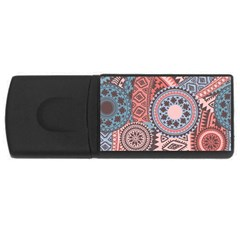 Fancy Colorful Mexico Inspired Pattern Rectangular Usb Flash Drive by tarastyle