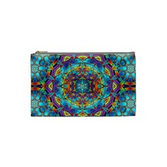 Background Image Wallpaper Cosmetic Bag (small) by Pakrebo
