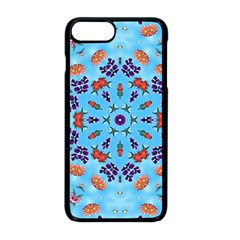 Farbenpracht Kaleidoscope Apple Iphone 8 Plus Seamless Case (black)