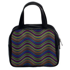 Decorative Ornamental Abstract Classic Handbag (two Sides)
