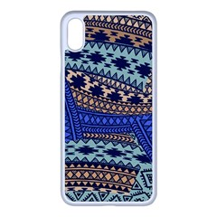 Fancy Colorful Mexico Inspired Pattern Apple Iphone Xs Max Seamless Case (white) by tarastyle