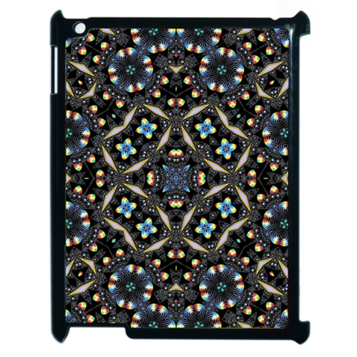 Tile Background Image Pattern Patterns Apple iPad 2 Case (Black)
