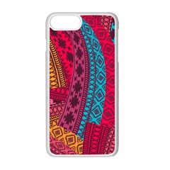 Fancy Colorful Mexico Inspired Pattern Apple Iphone 7 Plus Seamless Case (white) by tarastyle