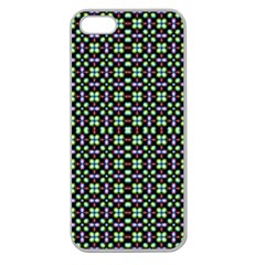 Background Image Pattern Apple Seamless Iphone 5 Case (clear)