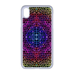 Background Image Decorative Apple Iphone Xr Seamless Case (white)