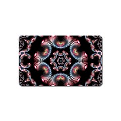 Ornament Kaleidoscope Magnet (name Card)