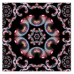 Ornament Kaleidoscope Large Satin Scarf (square)