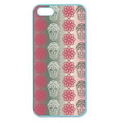 Fancy Colorful Mexico Inspired Pattern Apple Seamless Iphone 5 Case (color)