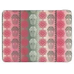 Fancy Colorful Mexico Inspired Pattern Samsung Galaxy Tab 7  P1000 Flip Case