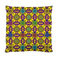 Background Image Geometric Standard Cushion Case (one Side)