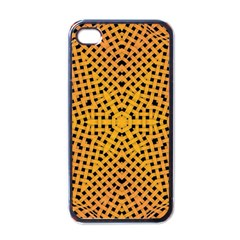 Background Pattern Structure Apple Iphone 4 Case (black) by Pakrebo