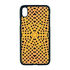 Background Pattern Structure Apple Iphone Xr Seamless Case (black)
