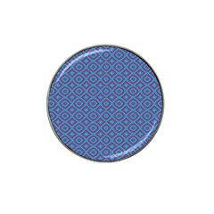 Background  Geometric Pattern Hat Clip Ball Marker by Pakrebo