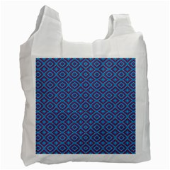 Background  Geometric Pattern Recycle Bag (two Side)