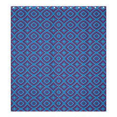 Background  Geometric Pattern Shower Curtain 66  X 72  (large)