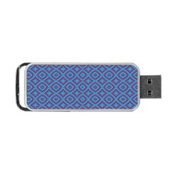 Background  Geometric Pattern Portable Usb Flash (two Sides)